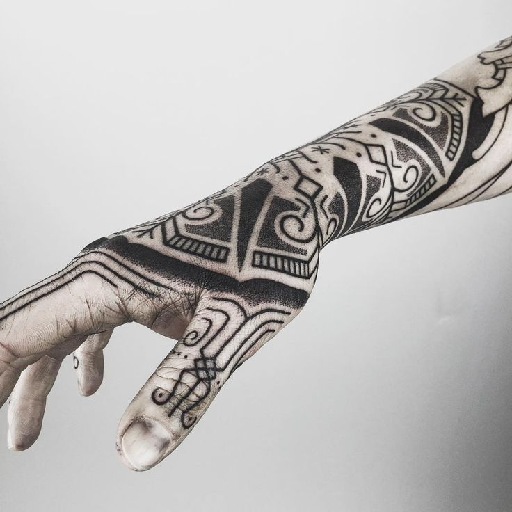 Norse Ragnarok Tattoo Traffic Club