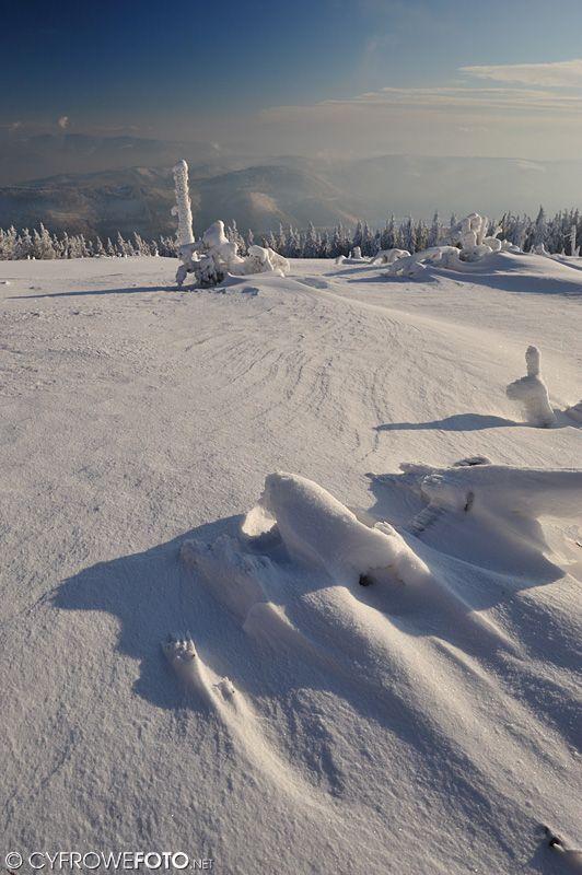 Skrzyczne, Szczyrk , zdjęcie zimowe