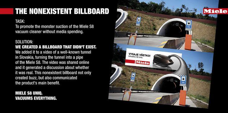 Adv Miele Vacuum Cleaner: Tunnel https://www.design-miss.com/adv-miele-vacuum-cleaner-tunnel/ Miele Vacuum Cleaner e l'Agenzia McCann Erickson Mayer di Bratislava, Slovacchia,hanno realizzato Tunnel, un'ironica adv outdoor riguardo la potenza dell'aspirapolvere Miele S8.      Viaibelieveinadv.com