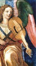 lira da braccio da un dipinto di Raffaellino del Garbo, inizio XVI secolo