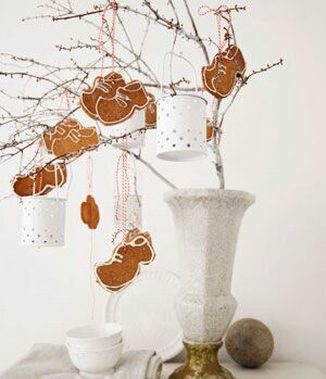 Koekjes of klei decoratie. Leuk voor Sinterklaas versiering!