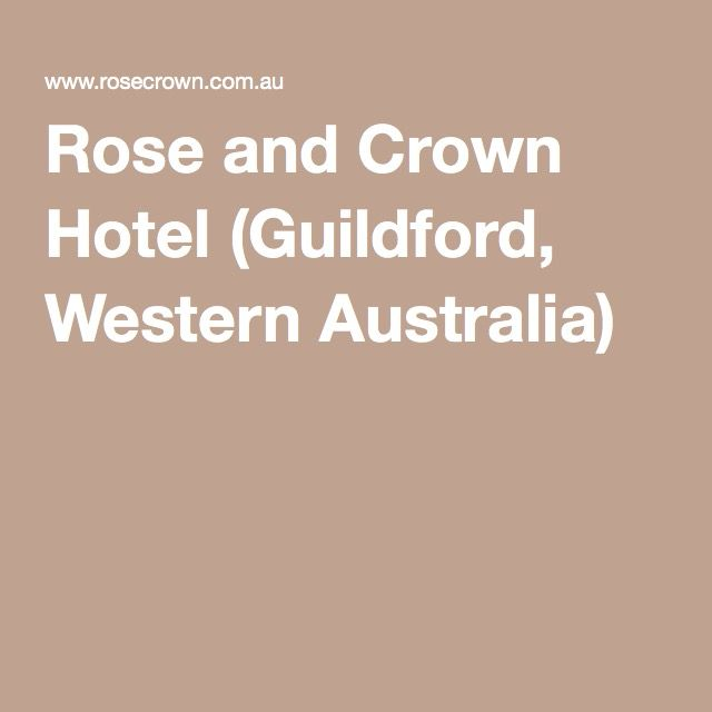 Rose and Crown Hotel (Guildford, Western Australia)