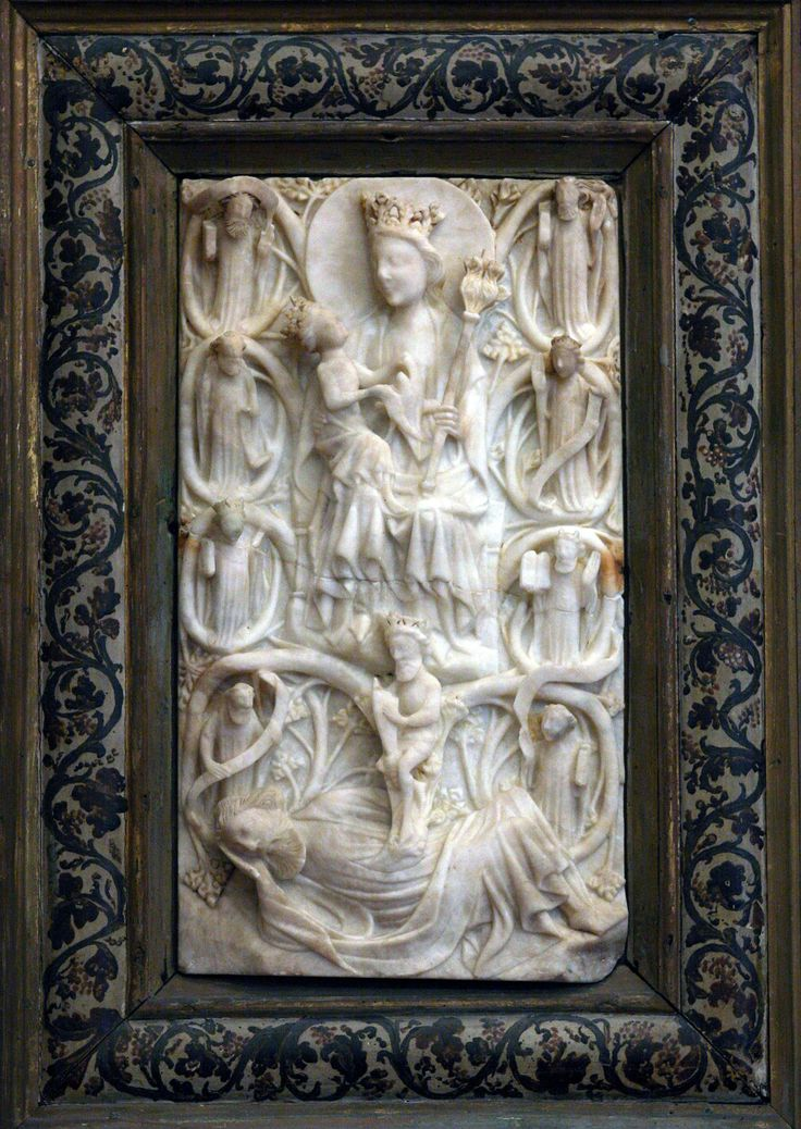 Madonna con il bambino e l'albero di Jesse: una storia d'alabastro