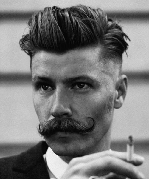 10 best Men\u0027s Hairstyles For Moustaches images on Pinterest
