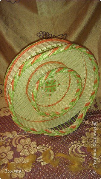 Поделка изделие Плетение много фото Трубочки бумажные фото 6