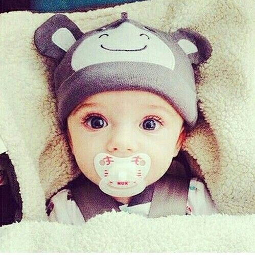 This baby is cute I didn't even look at the link