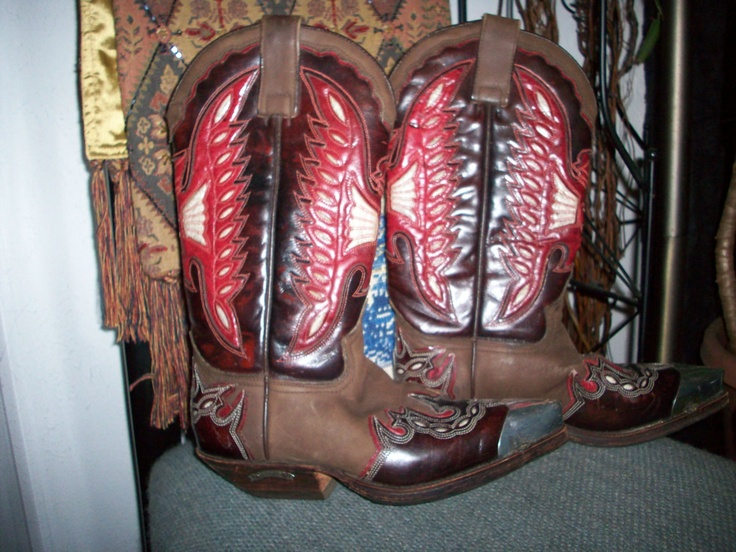 Cowboy Boots for Ladies made of real leather with by nadiaforero, $175.00