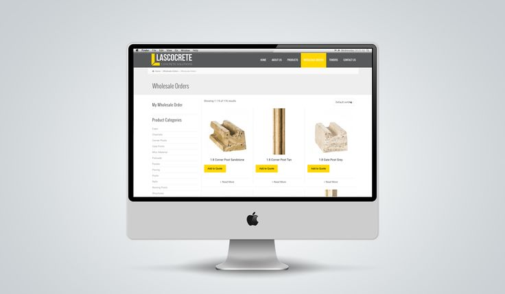 "http://www.newnormal.co.za/work/lascocrete/ ""creating a leading digital experience - attracting a broad market, yet standing out from a monotonous group of competitors in the concrete industry"""