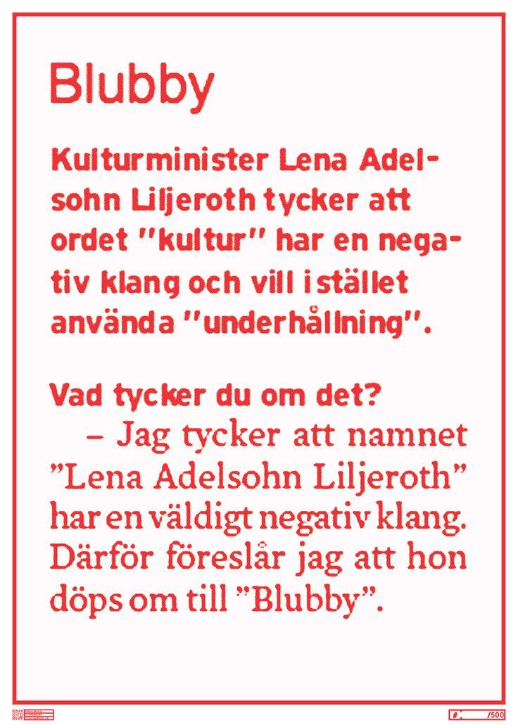 FF1202 - Blubby - Liv Strömquist
