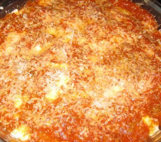 "Pasta ""al forno"" con Magic cooker"