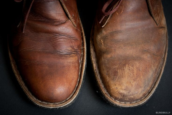 How to clean your Clarks Desert Boots with Saddle Soap and a leather lotion/leather preservative.