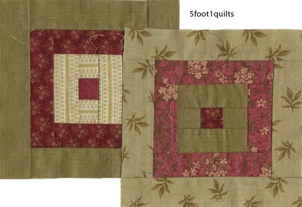 Acanthus square by 5foot1 quilts