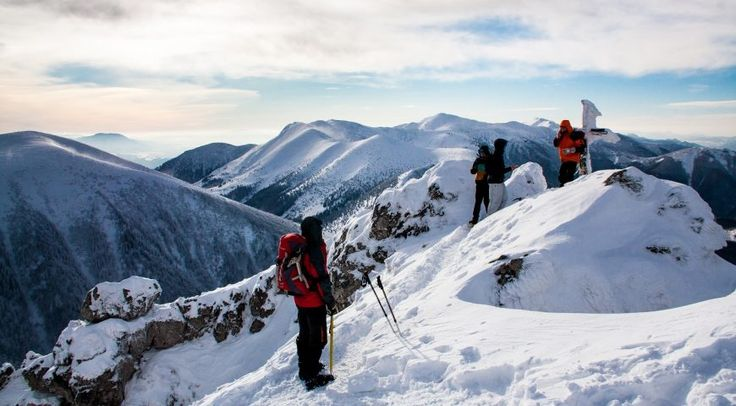 Strenuous hike in Mala Fatra National park   SLOVAKATION