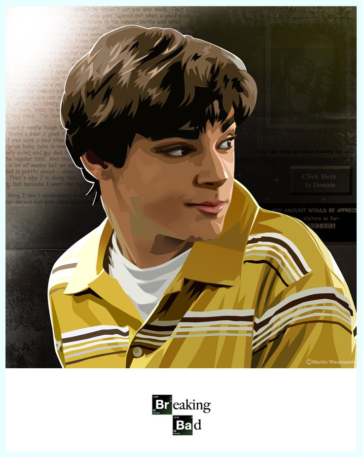BREAKING BAD Character Portraits by Martin Woutisseth - News - GeekTyrant