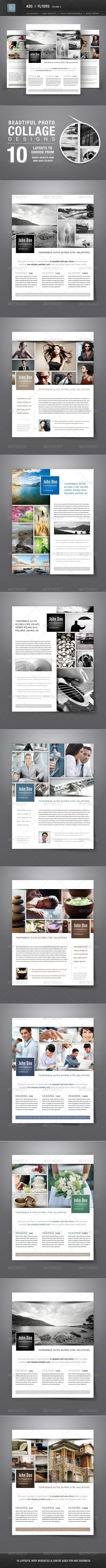 Ads | Business Flyers | Volume 6 - Flyers Print Templates