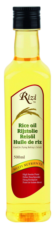 #Rijstolie wordt verkregen uit natuurlijke rijstzemelen en is zowel in de Aziatische als in de westerse keuken zeer geliefd. #Rizi