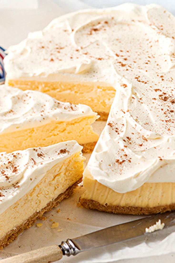 You'll fall head-over-heels for this delicious Bistro Cheesecake!