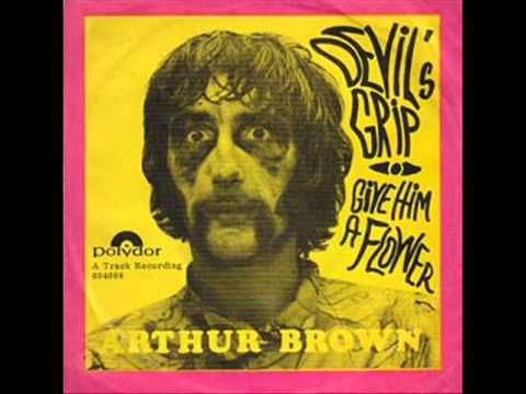 Arthur Brown ♪ Devil's grip on me (1967) - YouTube