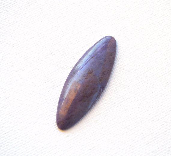 Purple  lavender Jade  natural stone  designer by CabochonArt