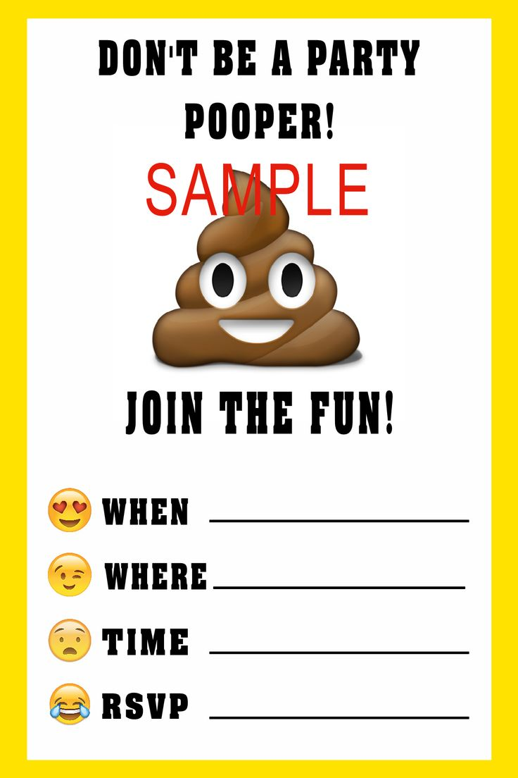 It is an image of Monster Emoji Invitations Printable Free
