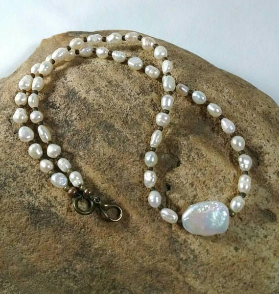Check out this item in my Etsy shop https://www.etsy.com/listing/529604734/pearl-necklace-freshwater-pearl-necklace