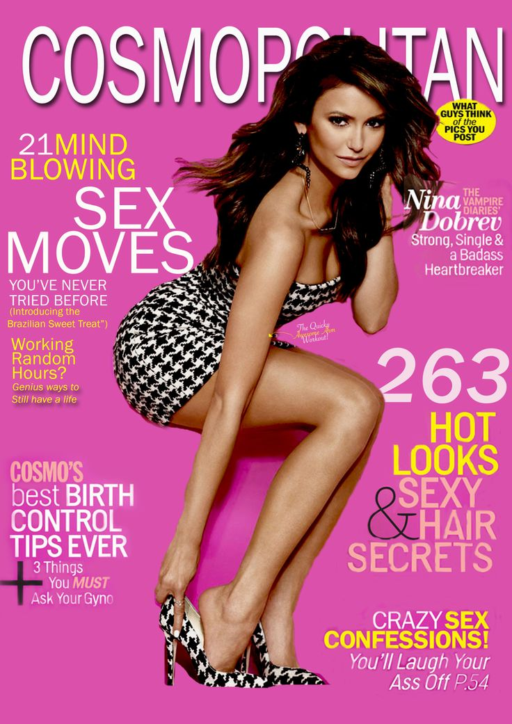 Cosmopolitan cover, made by me.