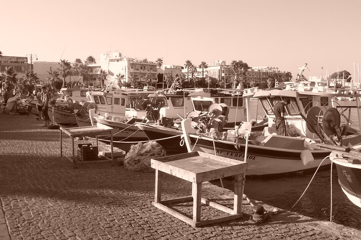 Fisheries and boats - Kos City Port (Greece)