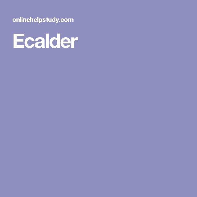 Ecalder