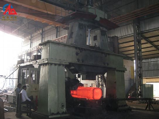 The difference between open die forging and close die forging work