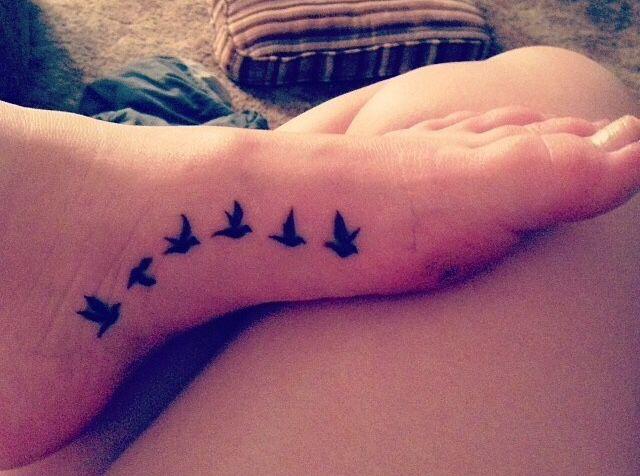 My bird foot tattoo. Still love this piece
