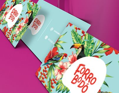"""다음 @Behance 프로젝트 확인: """"Branding / Forrobodó - Loja de Arte online""""…"""