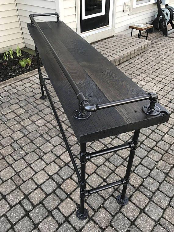Chaise Lounge Sofa Reclaimed Barn Wood Sofa Bar Table