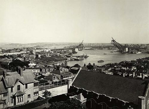 Sydney Harbour Bridge under construction | Flickr - Photo Sharing!