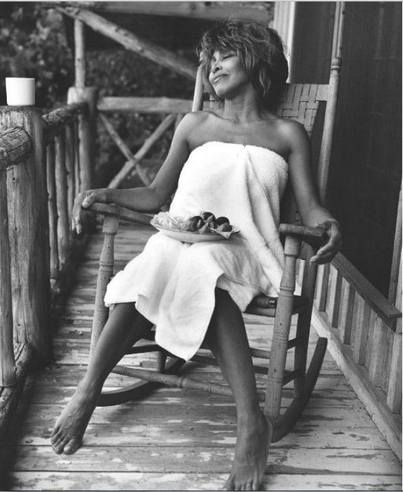 Tina Turner by Bruce Weber