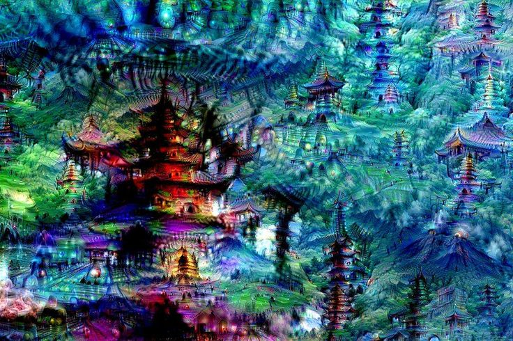 Neural Net Dreams Inception collection from Google