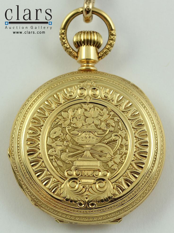 418 best antique pocket watch images on pinterest antique watches patek philippe yellow gold pendant watch finely engraved 18k yellow gold hunting case early mozeypictures Images