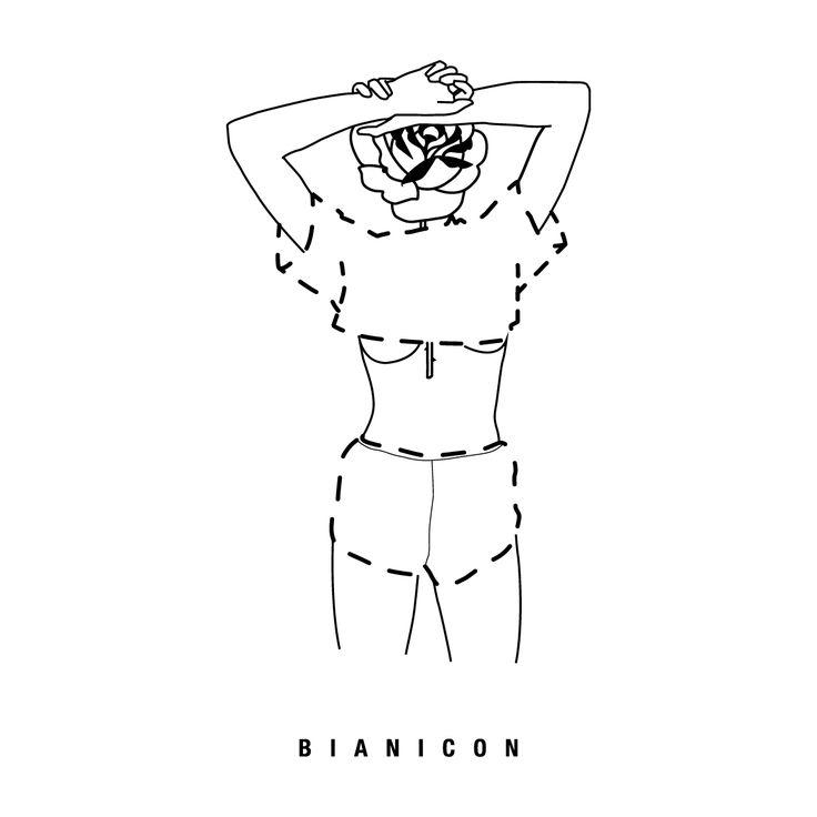 #bianicon #linework #simplicity #rose #girl