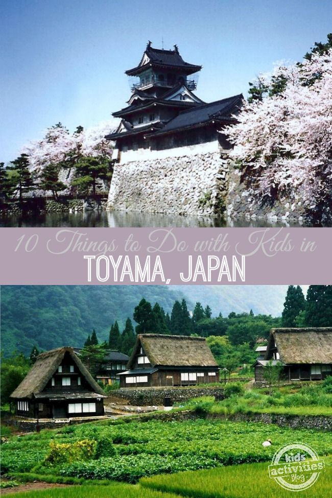 There are so many great things to do with kids in Toyama, Japan. Japan is a beautiful country with lots of family friendly activities for a great vacation.