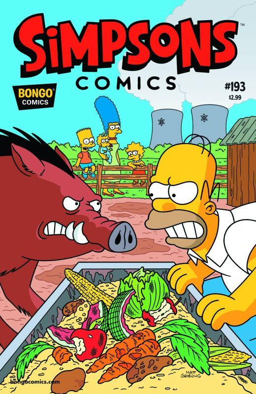simpsons comic 193 | ... Comics :: Simpsons Comics (1993) :: Simpsons Comics #193 Comic Book