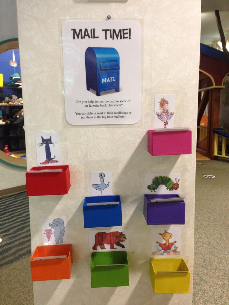 Reading With Red: Early Literacy Center- Mail Time Part 2