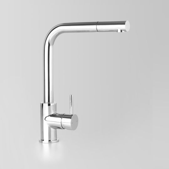 DescriptionSink Mixer with Pull-out & swivel spout WELS rating5 Star 6L/min or optional 6 Star 3.5L/min