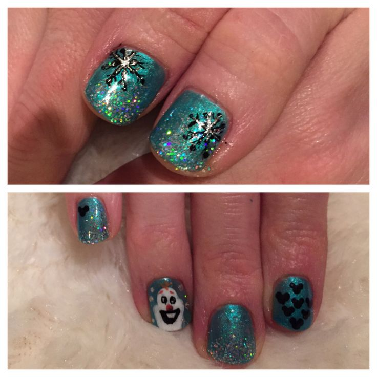 Hand Painted Christmas Nail Art: 17 Best Ideas About Shellac Nail Art On Pinterest