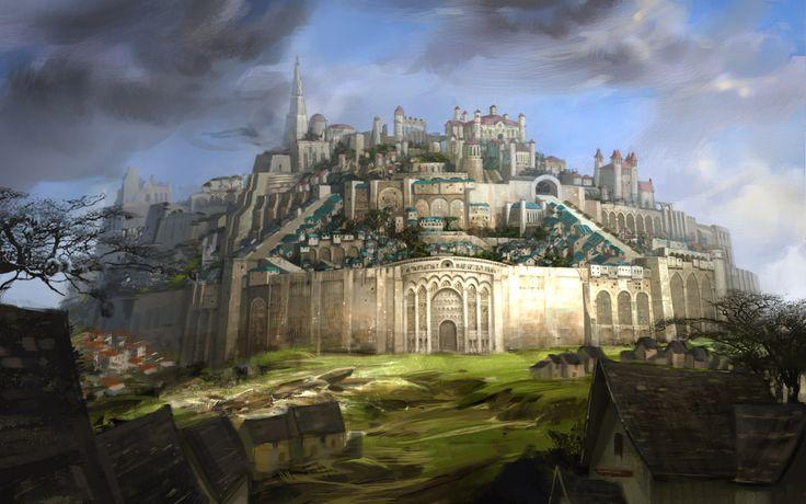 Fond d cran hd heroic fantasy fond d 39 cran hd gratuit for Architecture fantastique