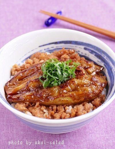 茄子の蒲焼丼 by お美津さん | レシピブログ - 料理ブログのレシピ満載!
