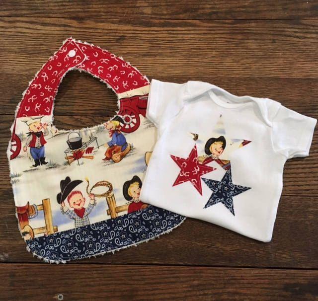 Lil Cowpokes Cowboy Western Baby Gift Set Baby Bib Onesie by dapperduds on Etsy https://www.etsy.com/listing/539959005/lil-cowpokes-cowboy-western-baby-gift