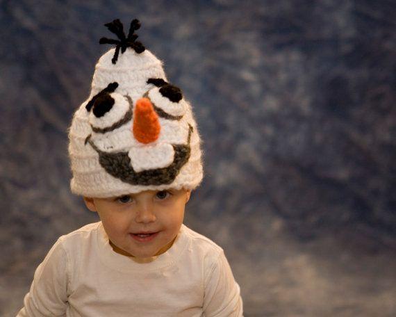 Olaf Frozen Crochet Hat Pattern Child Baby Costume by TheTwistedK, $4.50