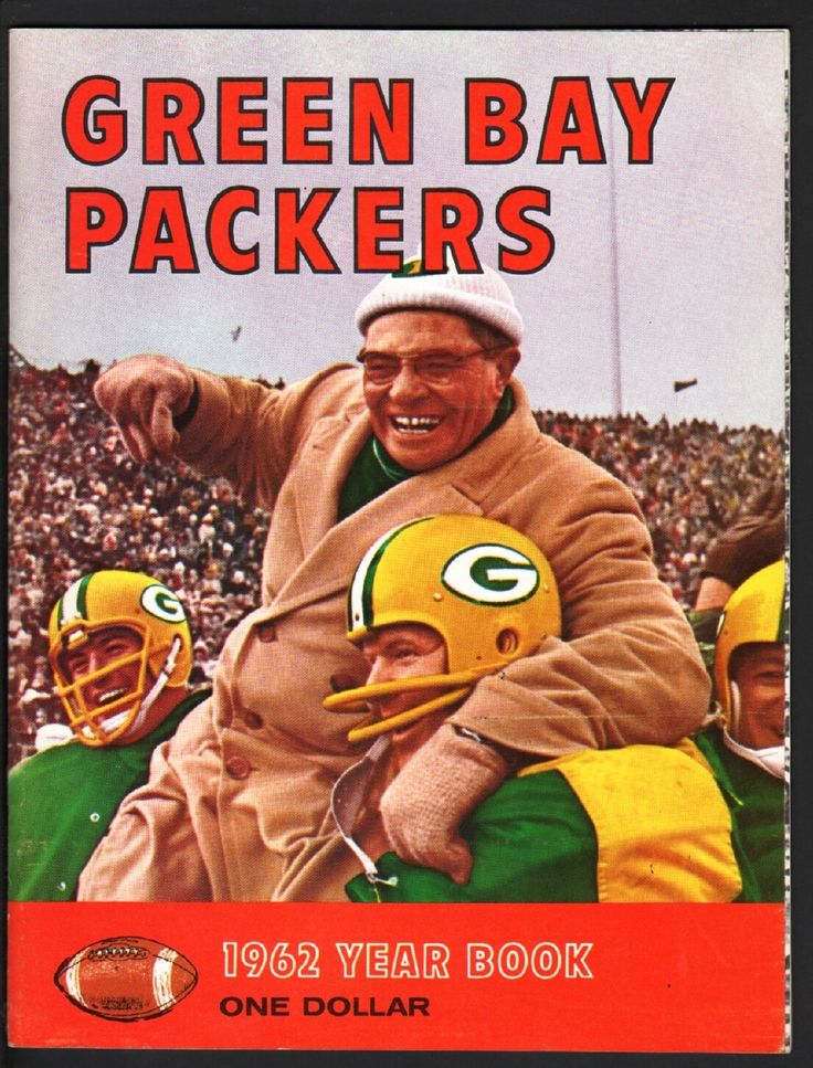 GREEN BAY PACKERS 1962 YEARBOOK with Vince Lombardi