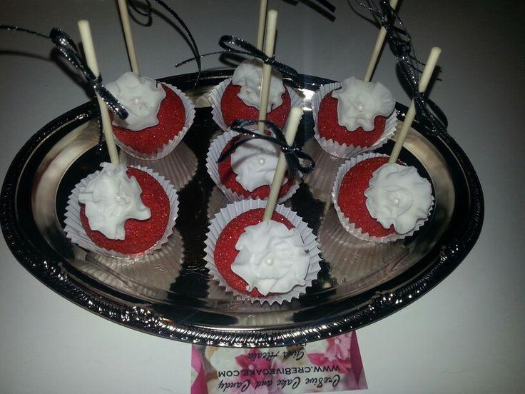 Fancy cake pops