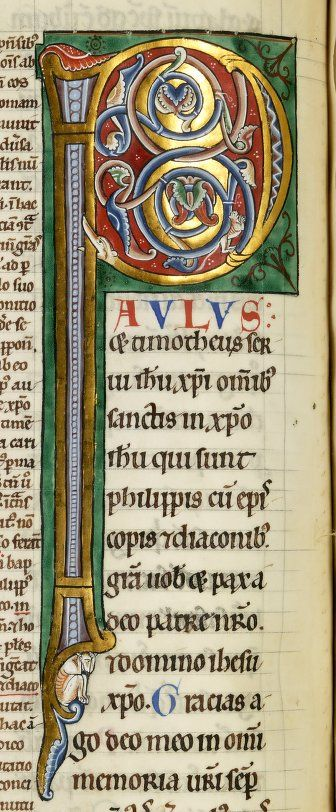 Petrus Lombardus, Collectanea in epistolas Pauli. Date d'édition : 1160-1180 Type : manuscrit Langue : Latin