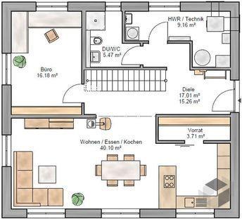 Dieses und viele Häuser mehr gibt es auf Fertighaus.de – Ihr Hausbau aus einer Hand: Schnell, preiswert und von geprüften Anbietern.   – Isma